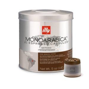 21 κάψουλες illy iperespresso BRASIL MONOARABICA