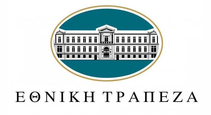 Ethniki Bank Logo